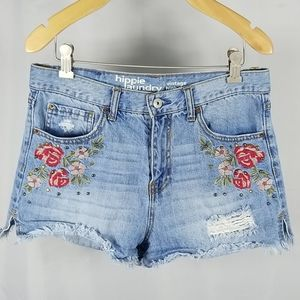 Flirty High Rise Vintage Denim Shorts  Sz 29